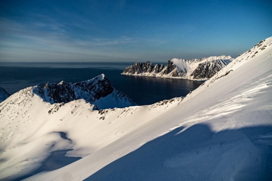Norwegen Skitouren auf der Insel Senja